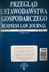 Pozycja sygnalisty w polskim porządku prawnym